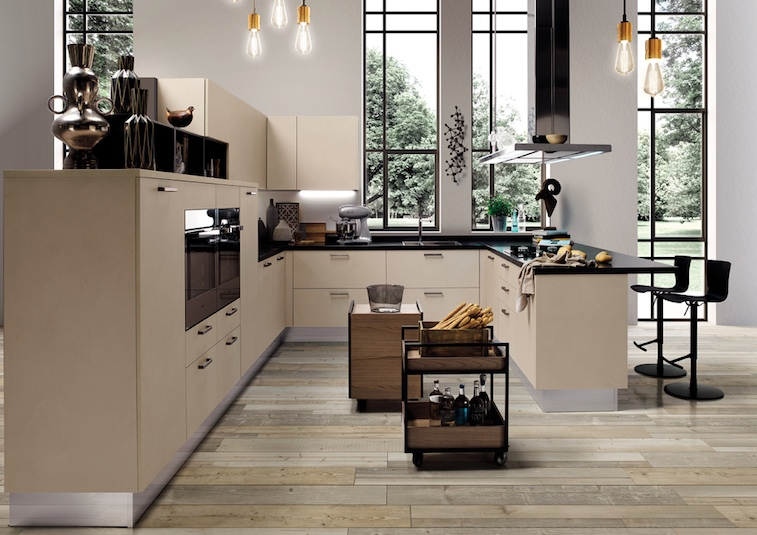 Linear kitchen collection is a luxurious one with a perfect attention to detail
