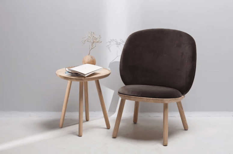 Naive Low is a comfortable flat pack chair, which is ideal for modern nomads