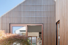 01 This House In House contains five distinct pavilions with different functions