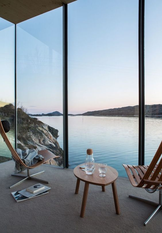 floor to ceiling windows guarantee that you'll have amazing views and feel like outdoors