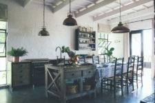 rustic barn kitchen design