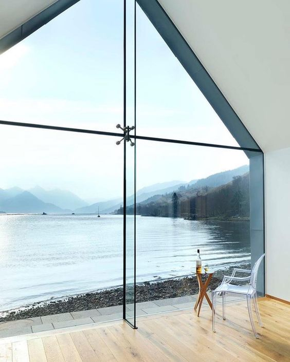 your floor to ceiling windows may have different shapes and looks