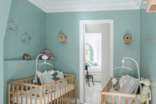05 mint is a nice soft color for a nursery, it's a cute idea for both a boy and a girl