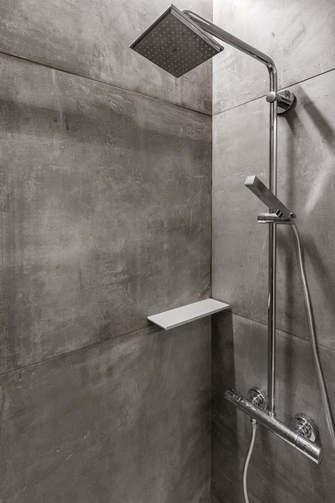 all grey bathroom design