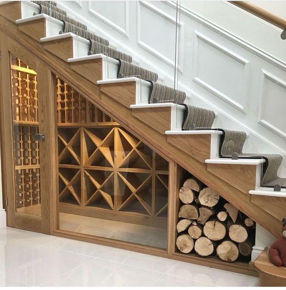 25 Under Stairs Wine Cellars And Wine Storage Spaces