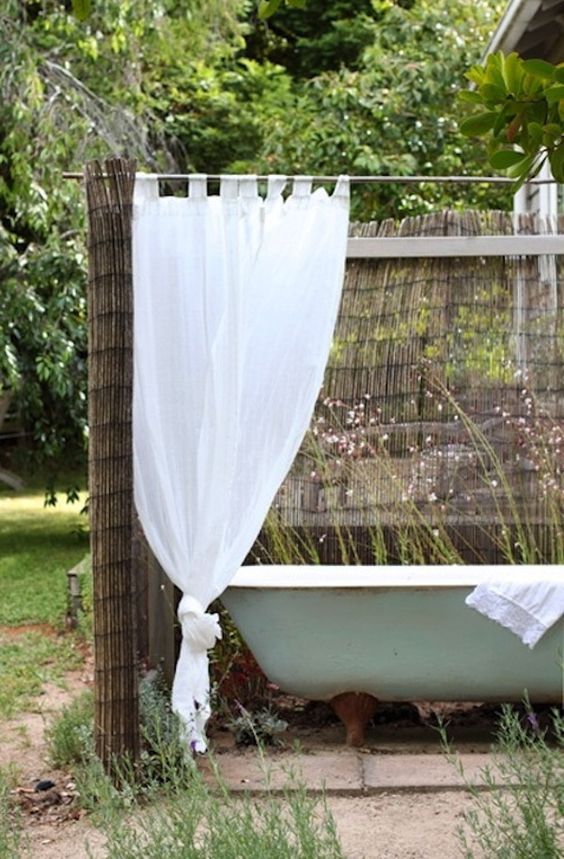 semi sheer screens and curtains can be a nice idea for keeping privacy with comfort