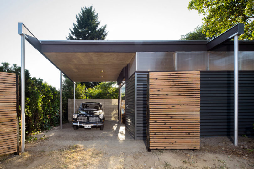 Here's a roof extension to form a car park