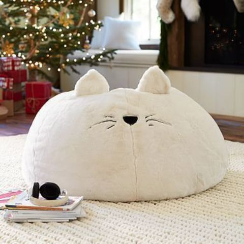 an animal-like bean bag chair is right what you need to make kids' space cuter and more welcoming