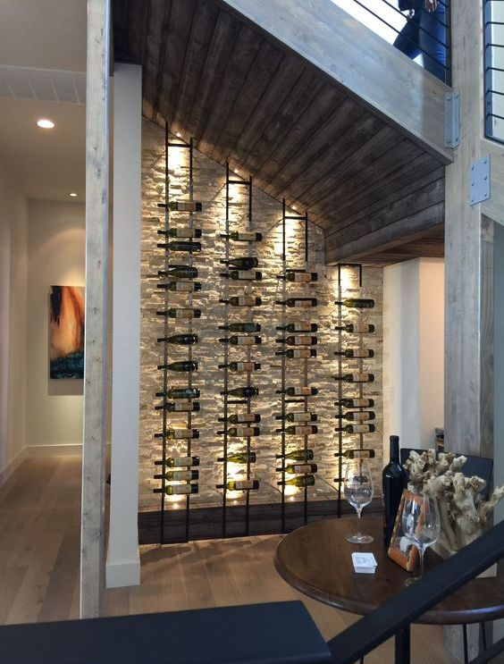 25 Under Stairs Wine Cellars And Wine Storage Spaces