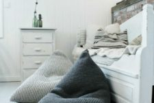 18 get a couple of comfy bean bag chairs for a guest bedroom to make it more welcoming