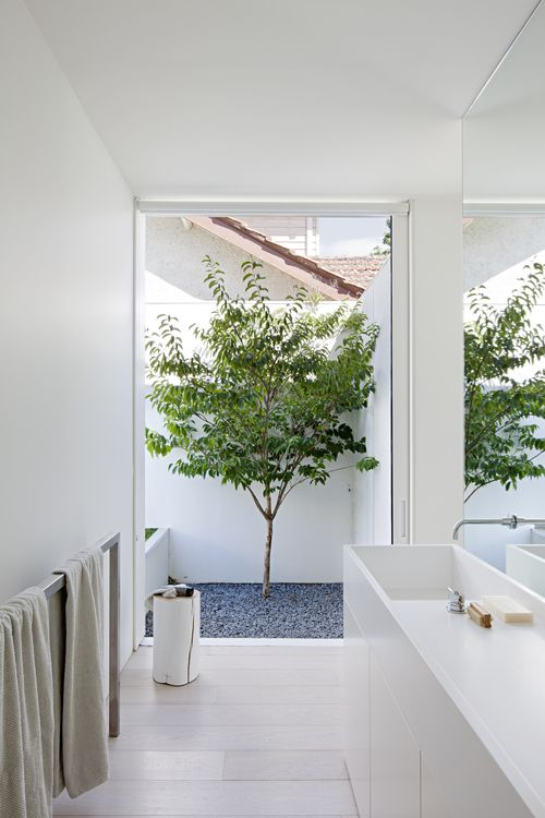 go for a floor to ceiling window if you know that it gives the views of your private courtyard