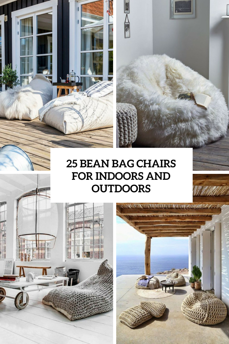 25 Bean Bag Chairs For Indoors And Outdoors - DigsDigs