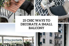 25 chic ways to decorate a small balcony cover