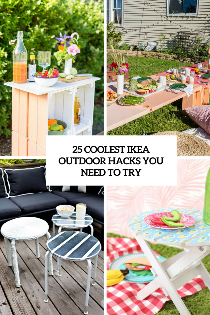 coolest ikea outdoor hacks you need to try cover