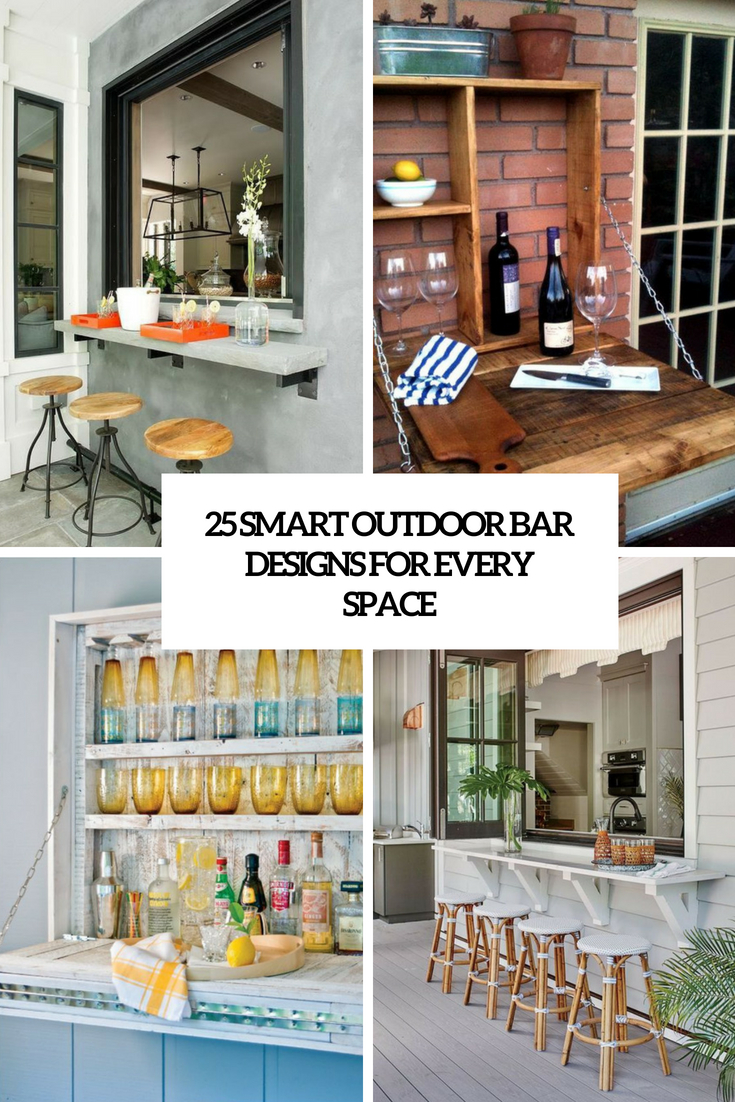 smart outdoor bar ideas for every space cover