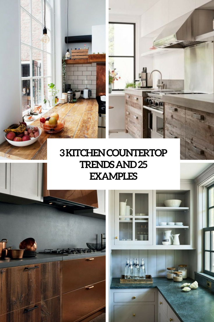 3 kitchen countertop trends and 25 examples cover