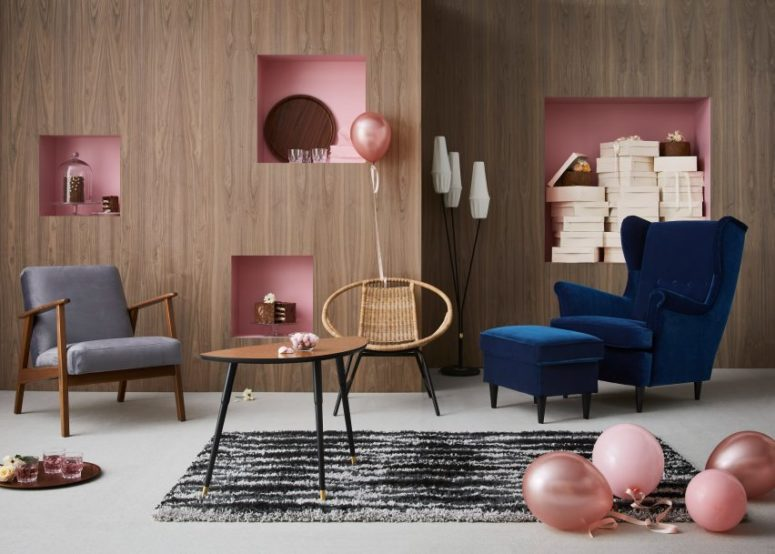 IKEA is celebrating its 75th anniversary with a new furniture series relaunching the coolest items of the past