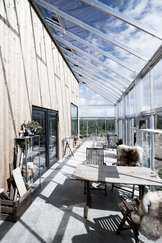 Truly Scandinavian And Sustainable Green House