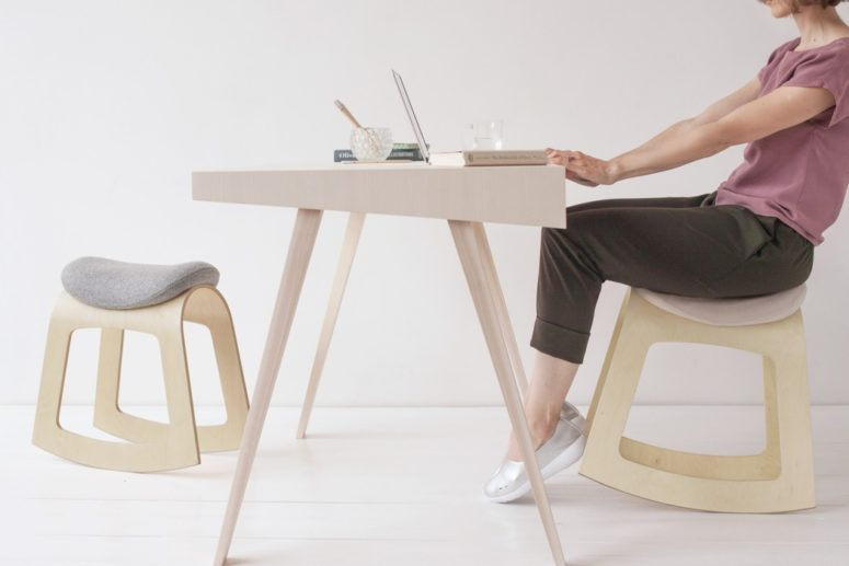 Minimalist Active Ergonomic Chair For Work