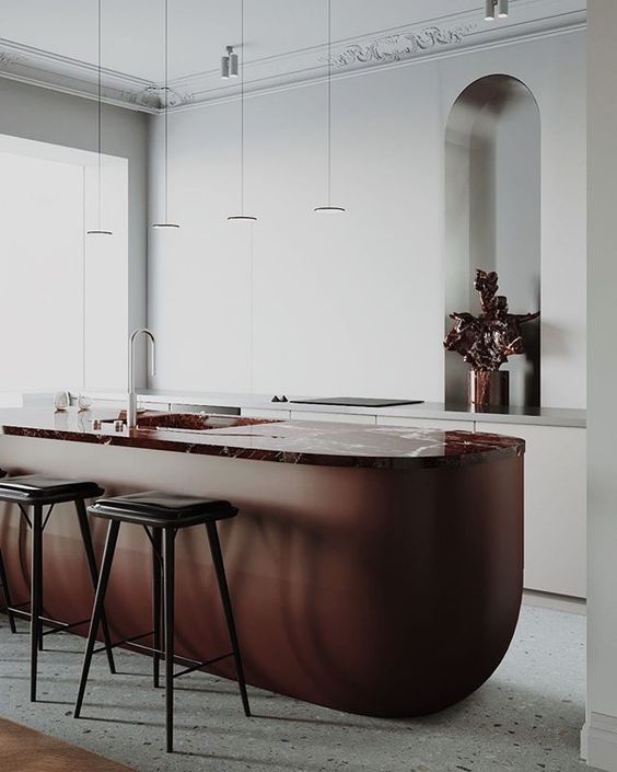 25 Contrasting Kitchen Island Ideas For A Statement Digsdigs