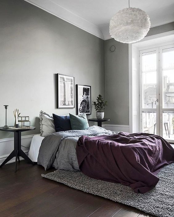 25 Simple Ways To Make A Grey Bedroom Cool