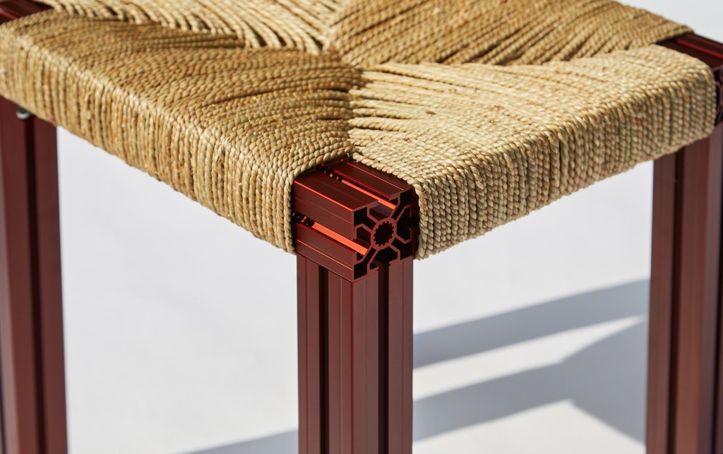 woven furniture for outdoor spaces