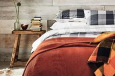 05 blankets in fall colors are an easy and budget-friendly way to make your bedroom fall-like