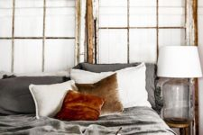 06 rust-colored velvet will make your bedroom refined and chic and will add coziness to the space