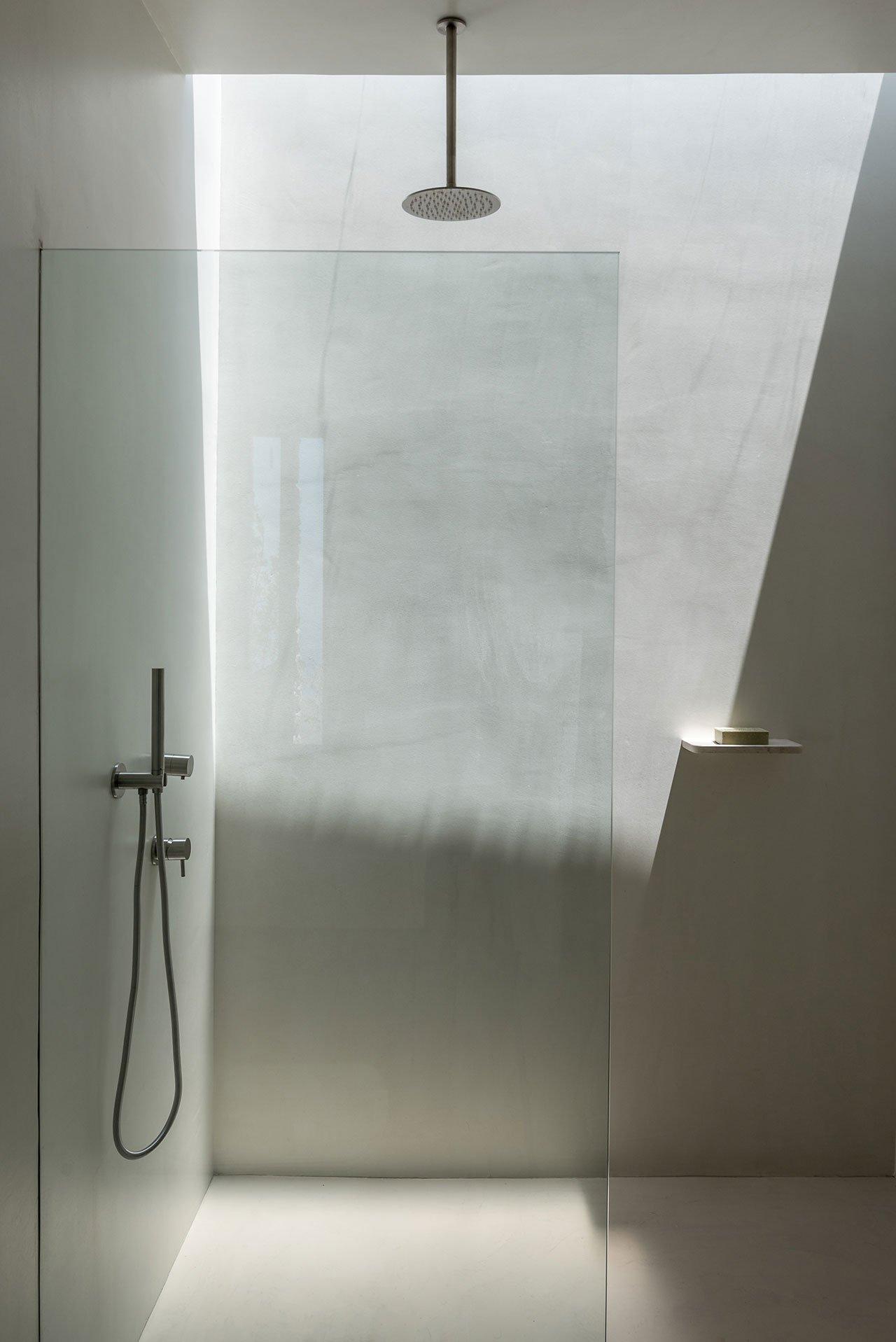 raw stone bathroom design