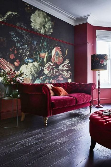 splurge on the sofa as it's always the center of the room, a statement wall with art highlights it
