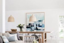 17 sleek modern wooden furniture and wicker and sisal touches for a contemporary coastal space