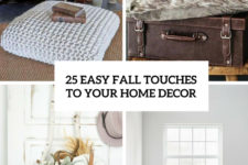 25 easy fall touches to your home decor cover