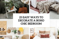 25 easy ways to decorate a boho chic bedroom cover