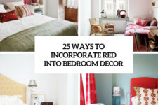 25 ways to incorporate red into bedroom decor cover