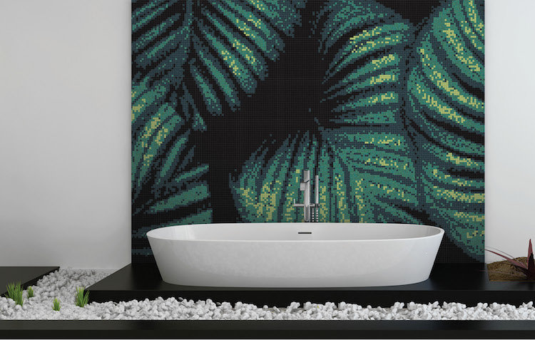 Flourish Mosaic Tile Collection Inspired By Nature