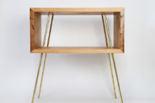 side table to provide some storage