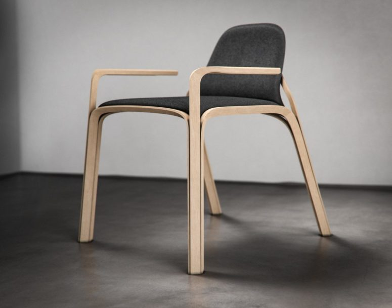 Stylish Scandinavian Chair With Perfect Proportions