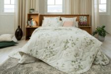 01 This chic bedding collection is inspired by the fall and natural fall shades