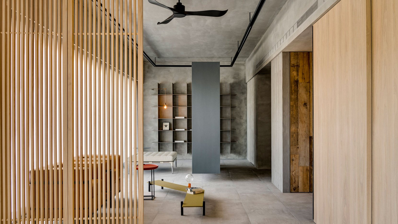 This gorgeous Taiwanese residence is done with wabi sabi aesthetics and traditional Japanese features
