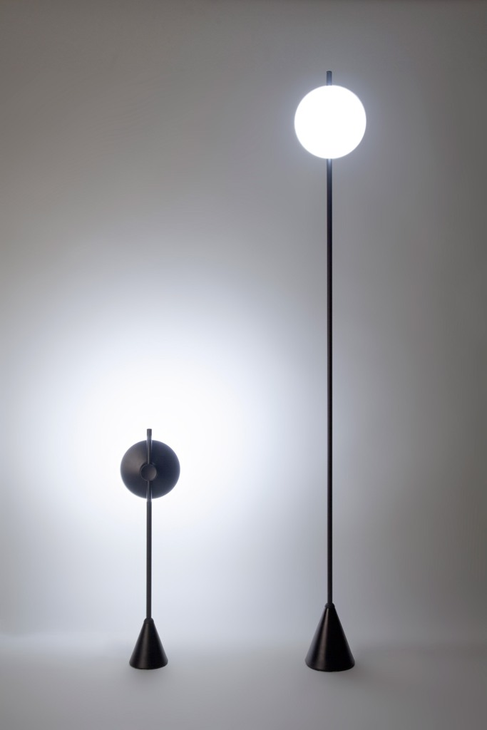 Control your lamps with mechanical and electrical elements