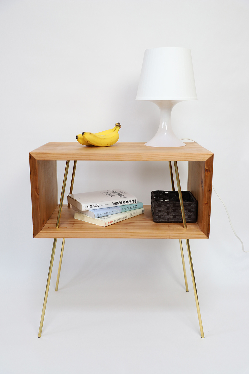 Thanks to the simplicity of the design and materials used this side table is great for many modern spaces