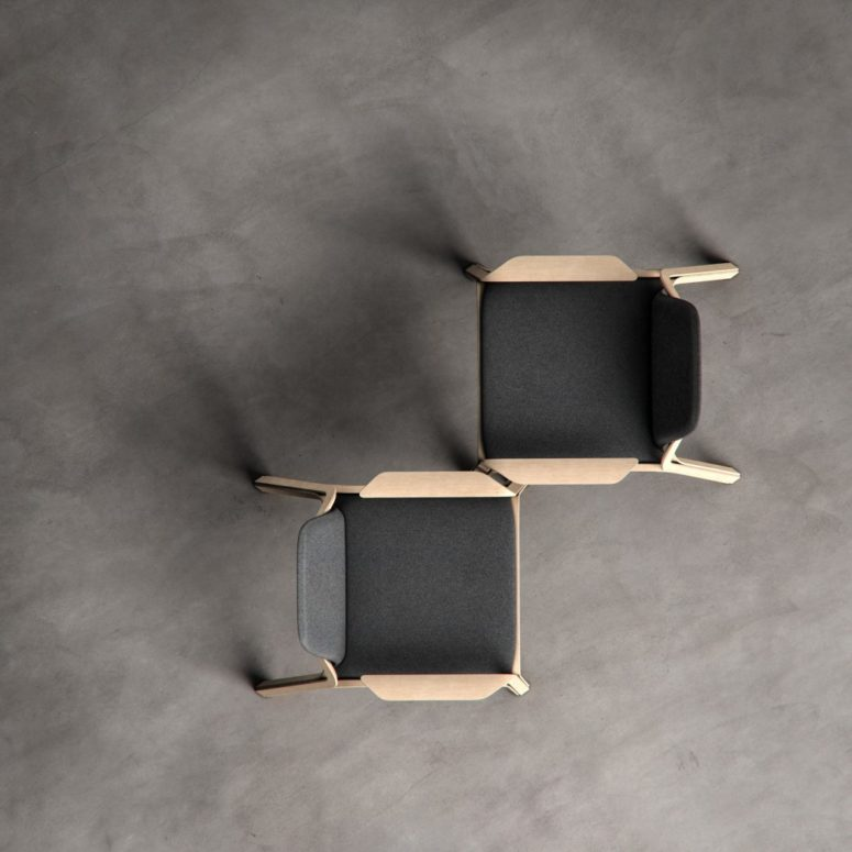 The piece will be a perfect fit for any contemporary, Scandinavian or Japandi interior