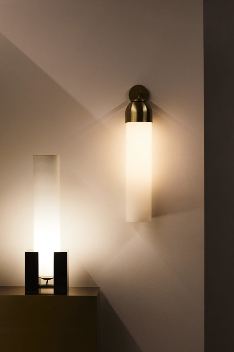 Float is a whole series of modern bulb-like lamps