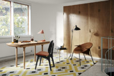 05 I love the rounded corners and thick and smooth wooden legs that scream mid-century modern