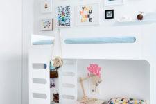 cute pastel kids room design
