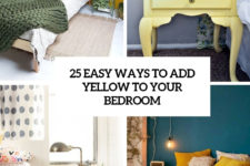 25 easy ways to add yellow to your bedroom cover