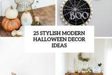 25 stylish modern halloween decor ideas