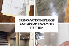 3 renovation mistakes and 20 simpel ways to fix them cover