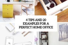 4 tips and 20 examples for a perfect home office cover