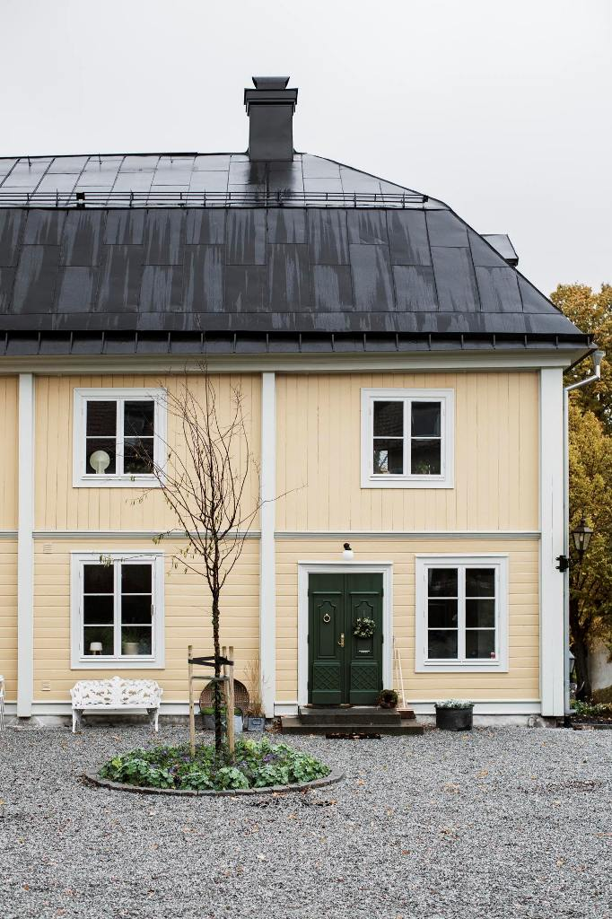 Scandinavian Home Built In The Late 19th Century